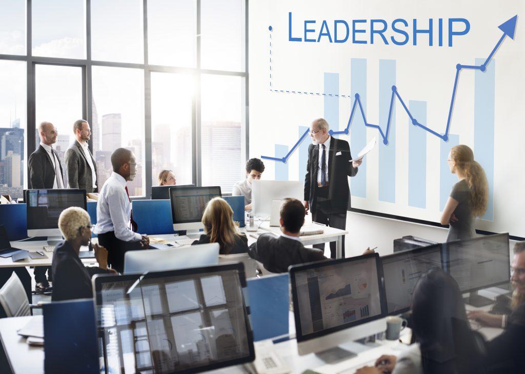 leadership 101 written on chalkboard